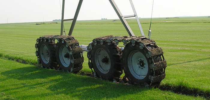 Valley 4-Wheel Articulating Drive