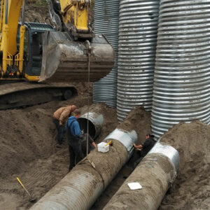 Up to 7 feet deep for Trenching Services